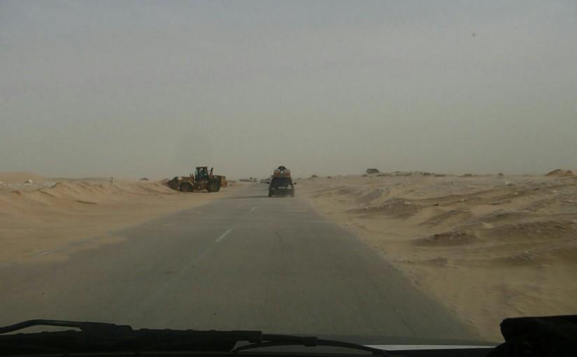 Durch die Sahara, Part 1