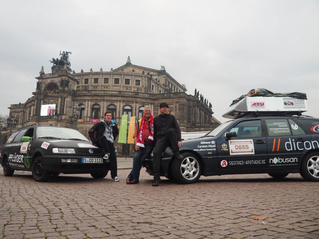 Auftakt an der Semperoper in Dresden