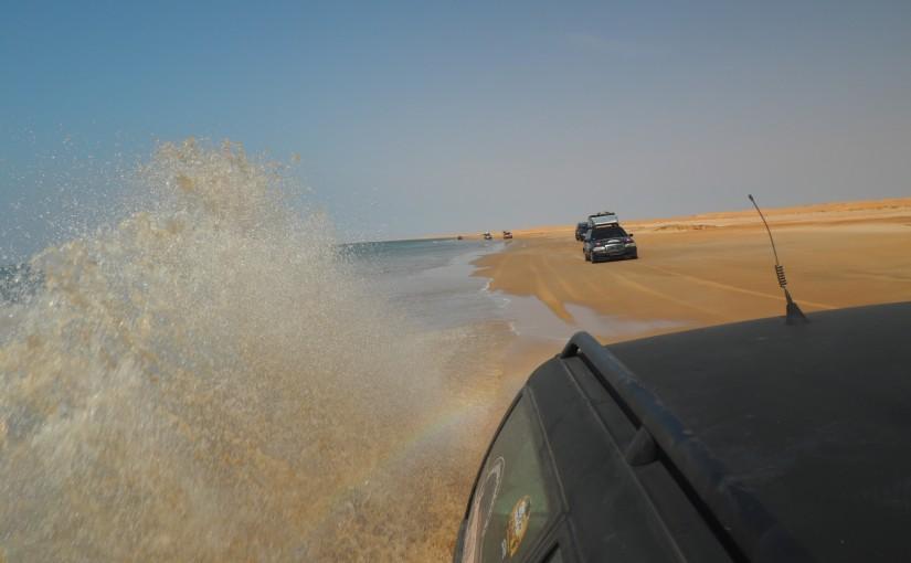 Auf dem Strand nach Nouakchott