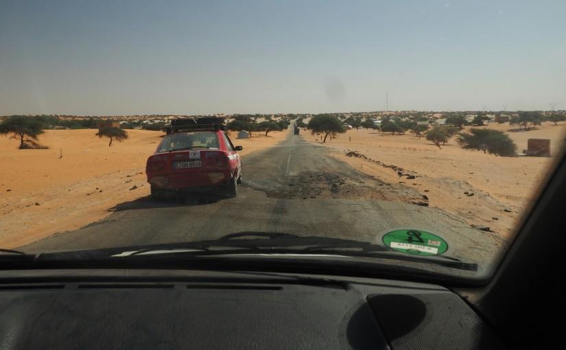 Von Nouakchott nach Saint Louis